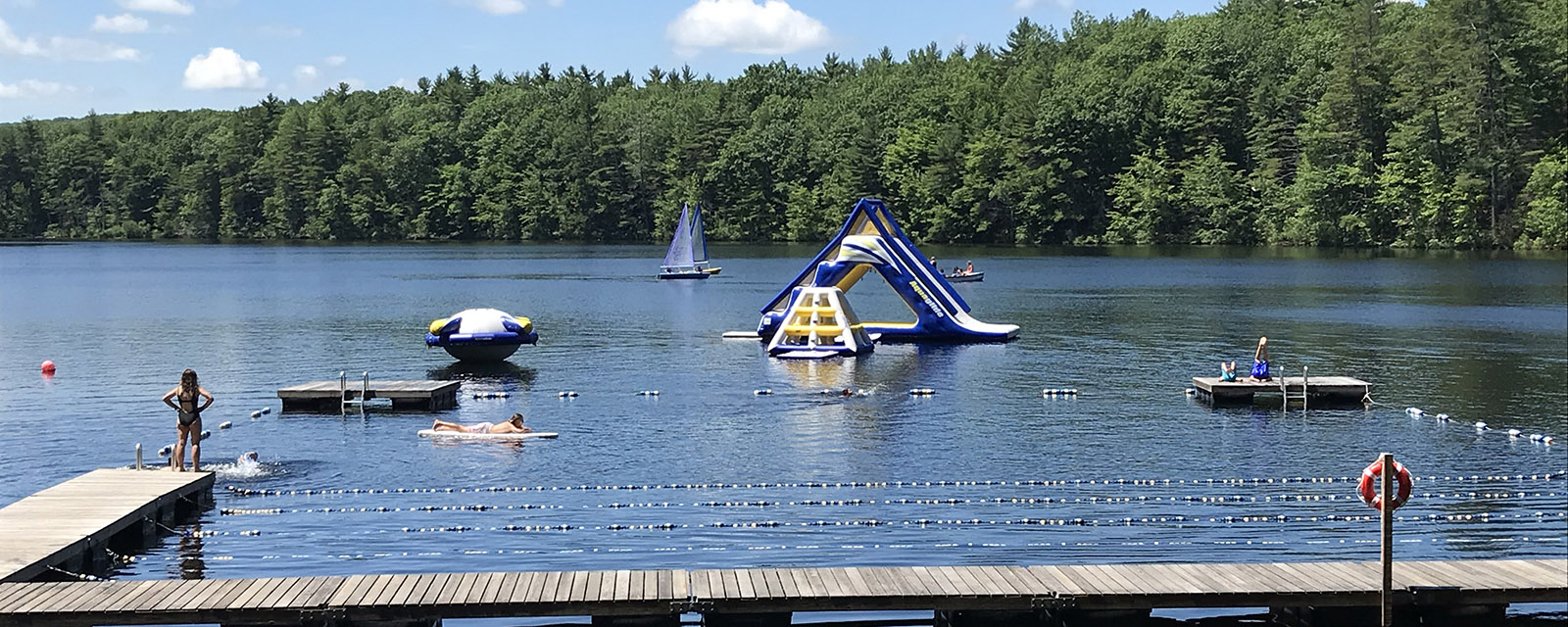 summer day camps in maine